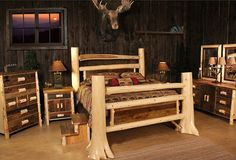 The Choice Of Reclaimed Wood Bedroom Furniture   American Style ...