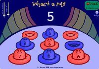 We've addressed those who need an extra challenge, but what about those who are not quite there yet? This whack-a-mole game give s students the opportunity to logically connect numbers in order. - skip counting too Learning Numbers, Learning Games, Math Games, Kids Learning, Math Class, Kindergarten Math, Counting In 2s, Math Boards, Interactive Whiteboard