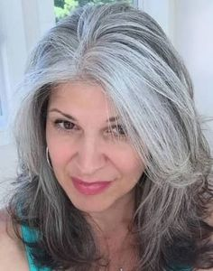 Image result for salt and pepper gray hair styles