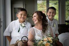 Leanette and the boys. Wellington wedding photography http://www.paulmichaels.co.nz/