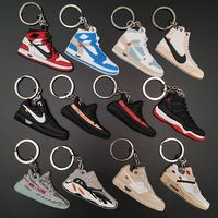 wholesale 2D 3D Mini Yeezy Air Jordan Basketball Soft PVC Shoe ...