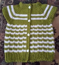 346 likes 12 comments Baby Knitting Patterns, Free Baby Patterns, Crochet Vest Pattern, Baby Boy Knitting, Crochet Baby Cardigan, Knit Baby Dress, Baby Clothes Patterns, Knitting Ideas, Knit Crochet