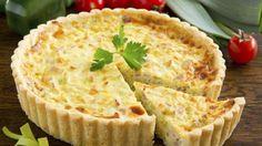 Une tarte très simple au jambon, pommes de terre et chaource ! Découvrez la recette de Chocmiel.
