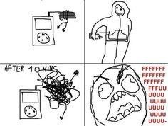 yep, damn headphones