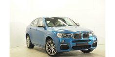 BMW X4 M40i fällt auf, immer und überall. Mit seinem extrovertierten Design vereint er Lifestyle und Performance. Jetzt im Gebrauchtwagen Leasing.