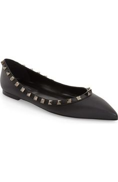 a30a7039937d Valentino  Rockstud  Flat available at  Nordstrom Valentino Flats