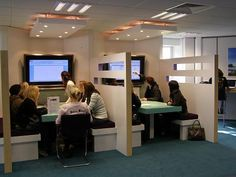 Bournemouth University techno booths 2