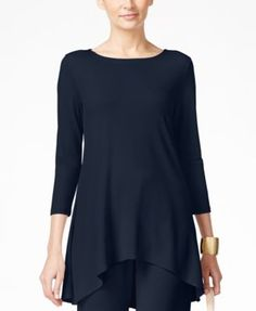 Alfani High-Low Jersey Tunic Top, Only at Macy's  | macys.com