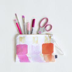 Essie in Pink pouch
