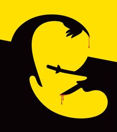 Noma Bar Tarantino For GQ France