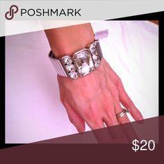Lia Sophia Bracelet New with tags! 100% authentic!  Stretchable bracelet. So beautiful!  No trades Lia Sophia Jewelry Bracelets