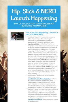 Hip, Slick & NERD Launch Happening