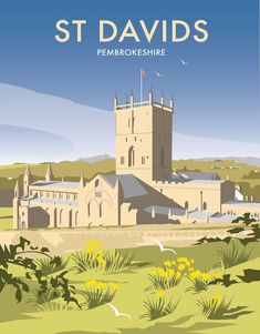 St Davids - Pembrokeshire Art Print