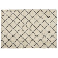 Designed in house, the Berber medium cream and charcoal grey hand-woven rug adds warmth to a room while creating a striking focal point. Buy now at Habitat UK. Style Marocain, Trellis Pattern, Moroccan Design, Black Rug, Berber Rug, Diamond Pattern, Woven Rug, Colorful Rugs, Habitats