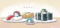 Chibi Food, Cute Food Art, Galaxy Pictures, Cute Chibi, Ensemble Stars, Touken Ranbu, Akatsuki, All Star, Kawaii