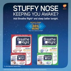Breathe Right® EXTRA Nasal Strips, 44 Count