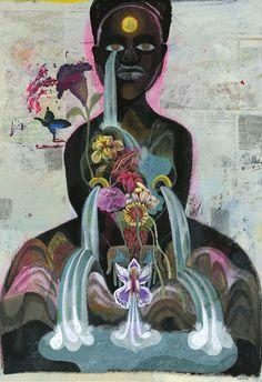 olaf hajek: flowerheads