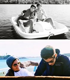 Then and now <3