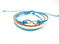 White Leather and Blue Rope Steampunk Bracelet Antique Silver Karma Bracelet,infinity Wish Bracelet Adjustable Bracelet 897s Bracelet, http://www.amazon.com/dp/B008E751PU/ref=cm_sw_r_pi_dp_aI-Lqb0SRJSYE