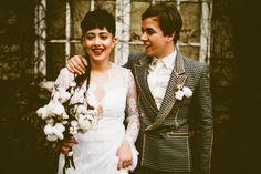 Grunge-Inspired Fake Wedding
