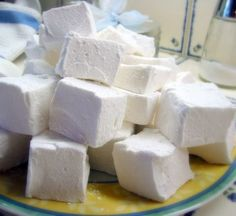 Homemade marshmallows are easy to make, impress at gatherings, and make store bought marshmallows weep with shame. Try them and you'll never go back! *** these would be great gifts***