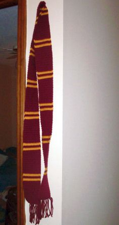 harry potter scarf crochet pattern