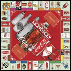 MONOPOLY: Coca-Cola 125th Anniversary Collector's Edition | USAopoly