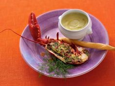 Gratinerad hummer recept