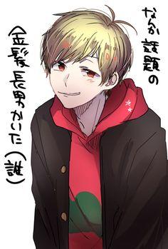 Osomatsu...as a blonde???