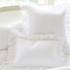 Ballard Ruffles FS on bedding