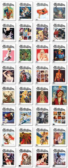 Illustration Magazine Archives, Online Free in Fullscreen