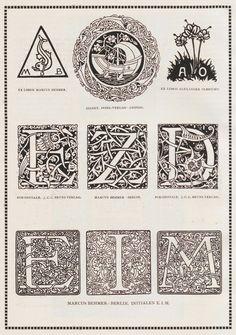 Vienna Secession initials