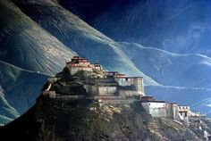 """Spiti, originally pronounced """"Piti"""", means """"The Middle Land"""", reflective of its position between Tibet and India.  The Spiti Valley is a desert mountain valley nestled in the Indian Himalayas."""