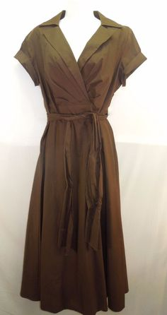 30% OFF! #Talbots Women Sz L/ 10 Chocolate Brown #LongDress  #Maxi #Womenswear #WomensFashion