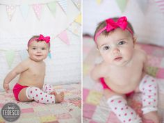 children's photography - 6 month photo session