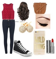 """""""Untitled #54"""" by magy662520 ❤ liked on Polyvore featuring Givenchy, J Brand, Converse and Loushelou"""