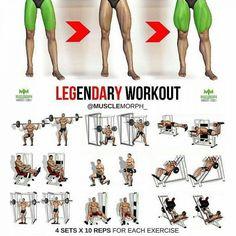 super sets for super legs