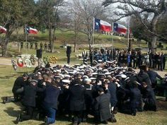 SEALs In Prayer (At Chris Kyle's Funeral)