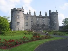 Kilkenny castle, Ireland.  Supposedly my whacked out ancestors are from this area.  Definitely worth a visit!