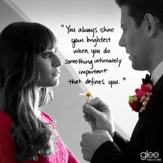 Glee this is a very true saying!