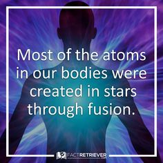 We're made of stardust