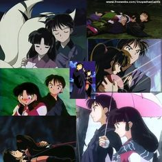 Sango e Miroku Miroku, Kagome And Inuyasha, Concept Art, Anime, Cartoons, Strawberry, Dessert, Manga, My Favorite Things