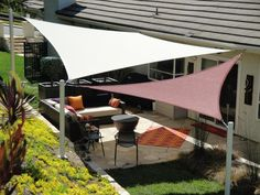 The 2 Minute Gardener: Photo - Shade Sails