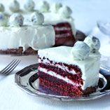 Punane sametkook (Ameerika Red Velvet Cake)