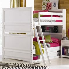 Elite - Reflections Full-Over-Full Bunk Bed with Underbed Storage Unit by Lea Industries - Reeds Furniture - Bunk Bed Los Angeles, Thousand Oaks, Simi Valley, Agoura Hills, Woodland Hills