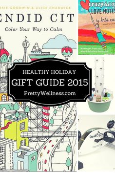 PrettyWellness.com Healthy Holiday Gift Guide 2015