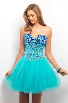 Turquoise Expensive Prom Dresses