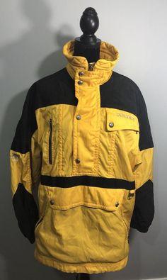 Mens Descente Jacket Medium Yellow Black  | eBay Yellow Black, Canada Goose Jackets, Winter Jackets, Medium, Coat, Men, Vintage, Clothes, Fashion