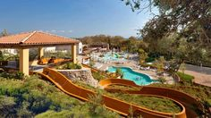 On the Ionian Sea, The Westin Resort at Costa Navarino in Greece has amazing watersports, aqua park, golf course, Scott Dunn kids club and teens program. Hotel Pool, Hotel Spa, Hotels And Resorts, Best Hotels, Best Family Resorts, Aqua, Holiday Resort, Luxury Holidays, Florida Vacation
