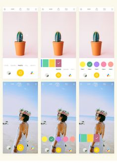 APUS Camera UI Design on Behance App Ui, Popup, Online Portfolio, Ux Design, Color Themes, Van Life, Photo Editor, Mobile App, Behance